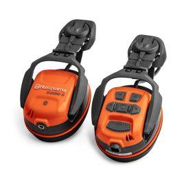 Husqvarna X-COM R Hearing Protection With Bluetooth - Helmet Mounted