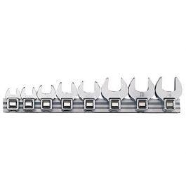Teng Tools 8 Piece Metric Crow Foot Wrench Set