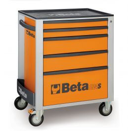 Beta Tools C24S 5 Drawer Mobile Roller Cabinet Tool Box