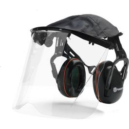 Husqvarna Hearing Protection With Perspex Visor & Cover
