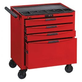Teng Tools 4 Drawer 8 Series Roller Cabinet TCW804N