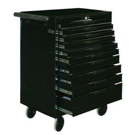 Teng Tools 10 Drawer Black Roller Cabinet TCW810NBK
