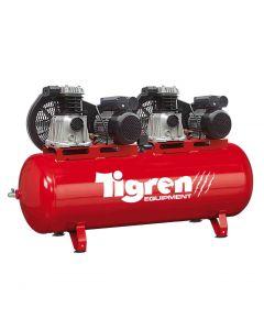 SIP Tigren 270 Litre 3HP Tandem Compressor 230v