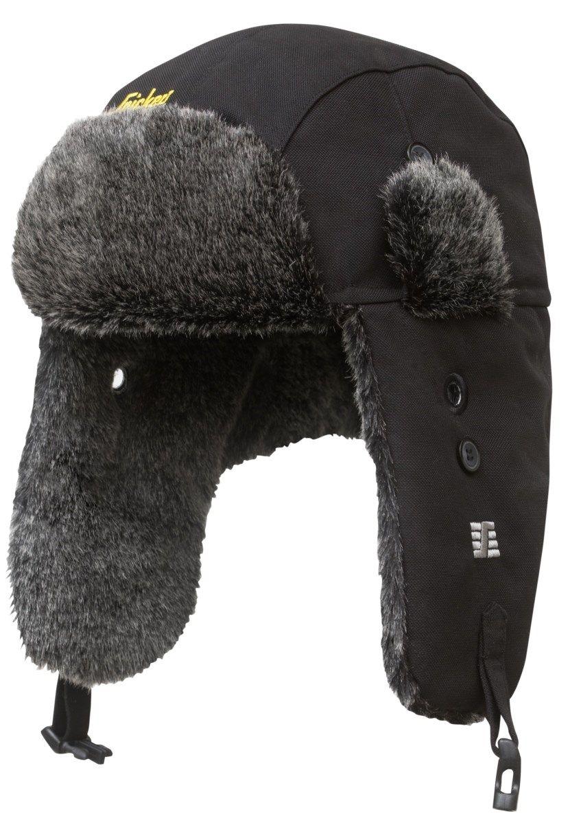Snickers 9007 RuffWork Heater Hat Black