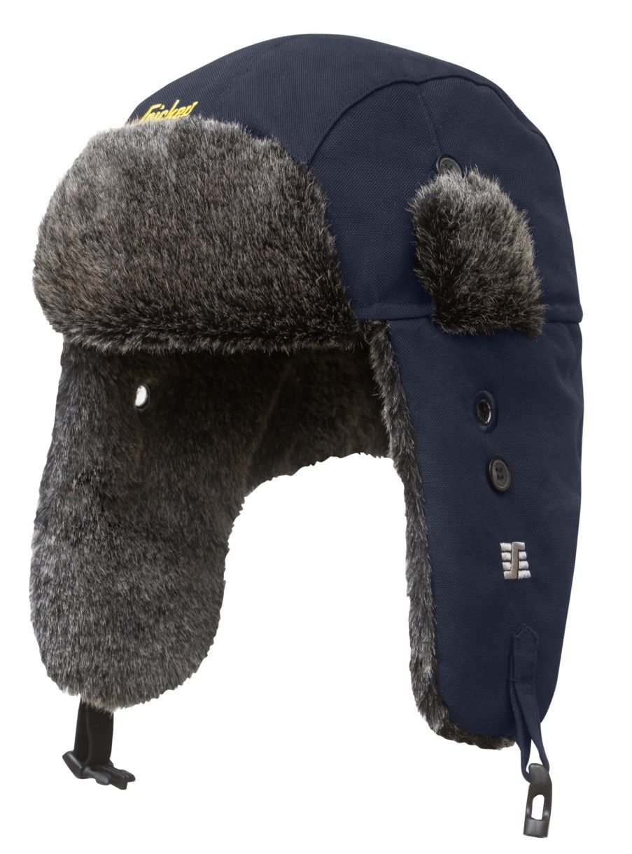 Snickers 9007 RuffWork Heater Hat Blue