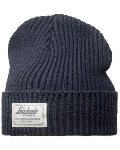 Snickers 9023 AllroundWork Fisherman Beanie Hat Navy One Size