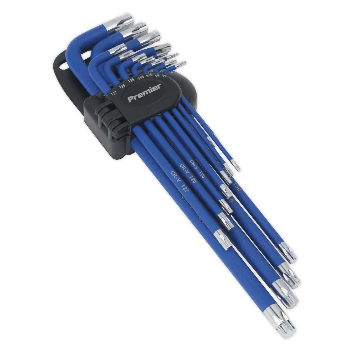 Sealey TRX-Star* Key Set 13pc Anti-Slip Extra-Long