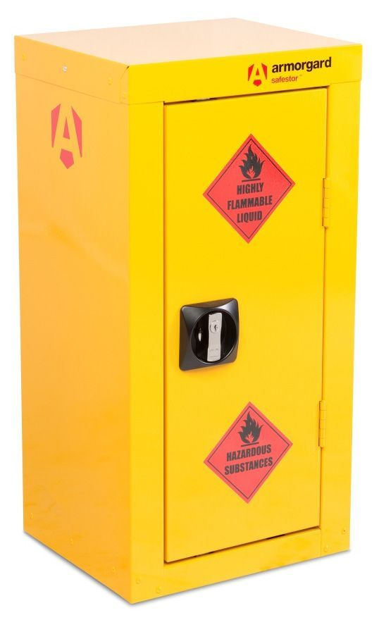 Armorgard HFC2 Safestor Hazardous Materials Floor Storage Cupboard