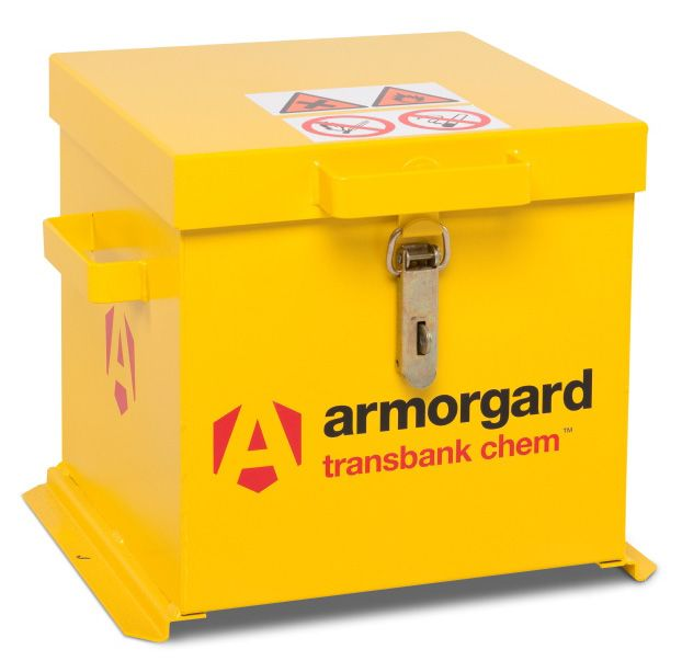 Armorgard TRB1C Transbank Chem Chemical Materials Transit Box