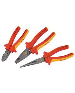 C.K RedLine VDE Pliers Set Of 3