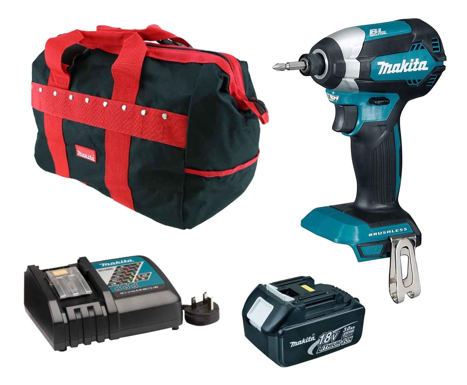 Makita DTD153RFX1 18v Brushless Impact Driver Kit