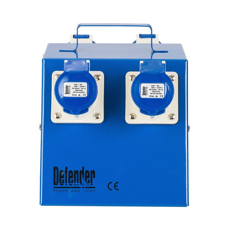 Defender 4 Way Power Splitter Distribution Unit 16A 240V
