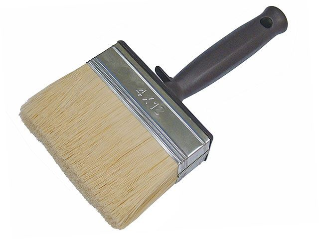 Faithfull Woodcare Shed & Fence Brush 120mm (4 in)