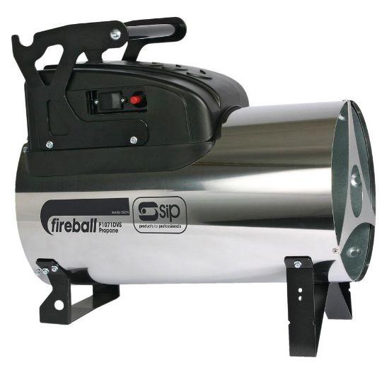 SIP Fireball 1071DV 107,000 Btu Propane Space Heater Dual Voltage