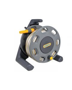 Hozelock 2412 Compact Hose Reel 30m + 25 Metres of 12.5mm Hose