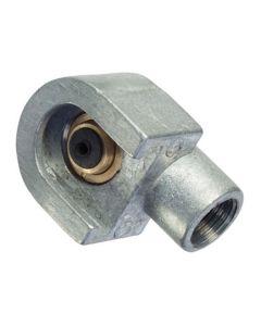 "Lumeter 1/8"" BSP Button Head Hook On Connector"