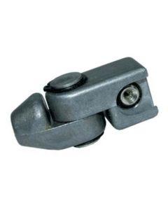 "Lumeter 1/8"" BSP Heavy Duty Universal Swivel Button Head Coupler"