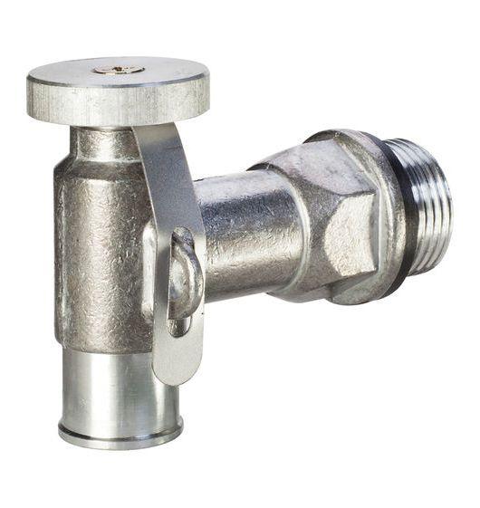 """Lumeter 3/4"""" BSP Lockable Diecast Zinc Drum Tap"""