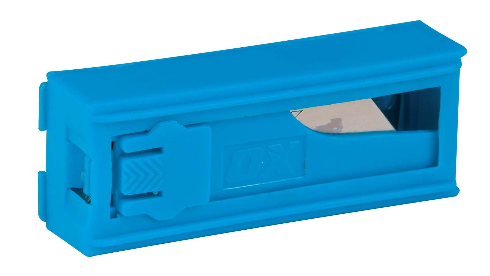 OX Pro Heavy Duty Knife Blades & Dispenser 10 Pack