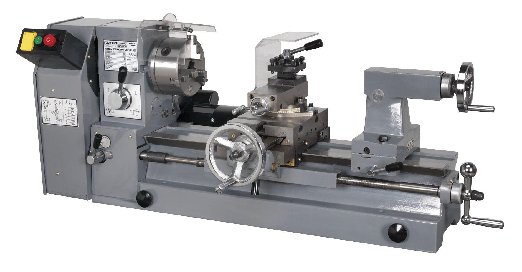 Sealey Metalworking Lathe 500mm Between Centres
