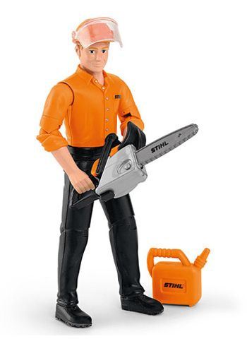 Stihl Children's Forestry Worker Play Figure
