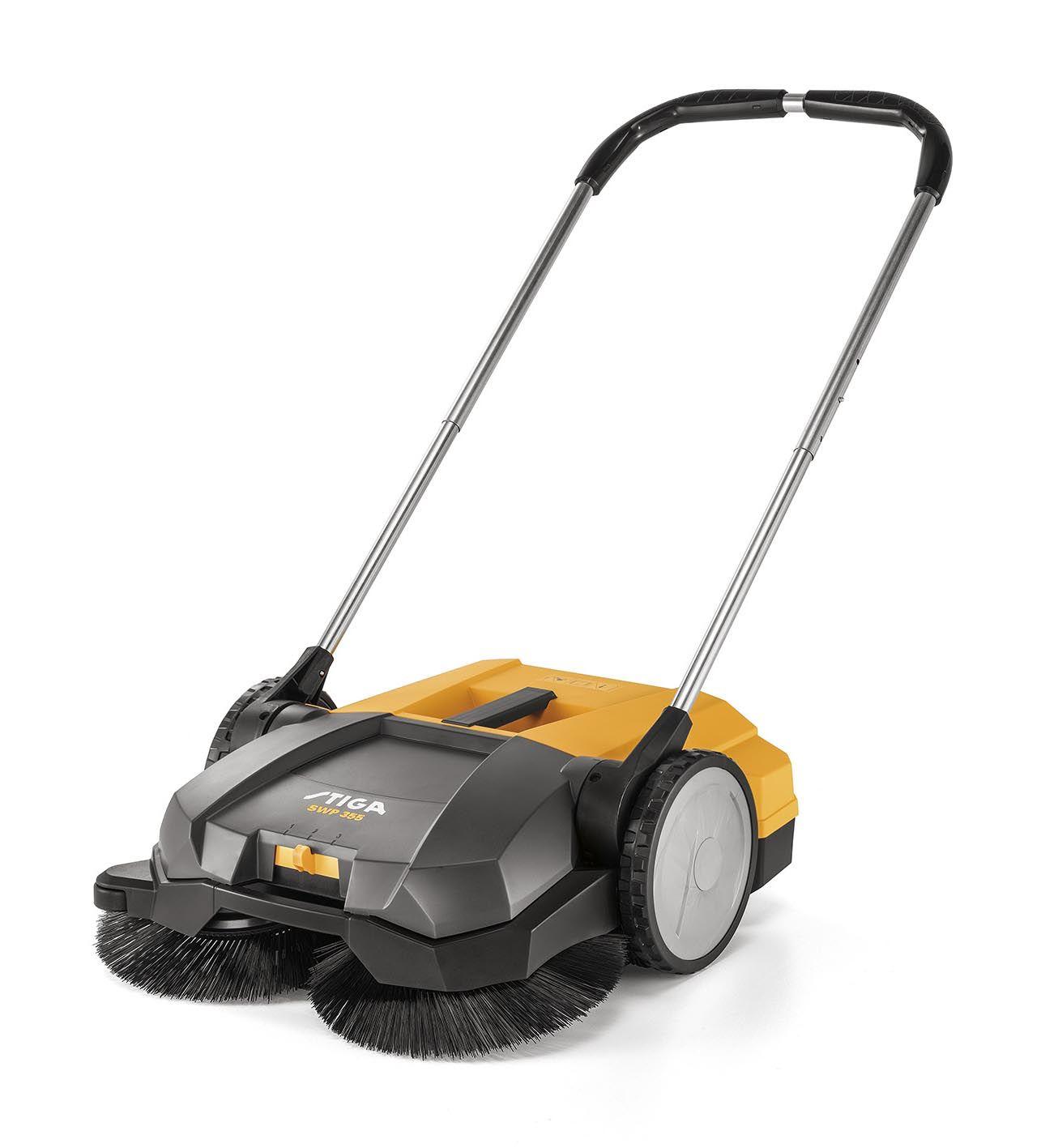 Stiga SWP355 55cm Push-Along Clearing Sweeper