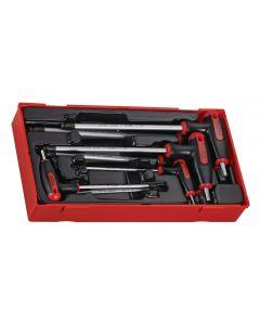 Teng Tools 7 Piece T Handle AF Hex Key Set