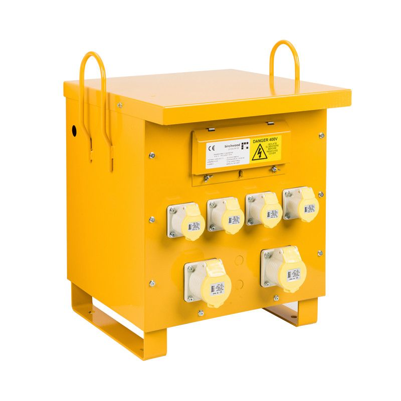 Defender Site Transformer 10 KVA 415V To 110V 4x 16A 2x 32A Outlet