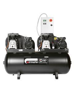 SIP Airmate B3800/270 270 Litre 2x 3.0Hp Tandem Air Compressor 230V