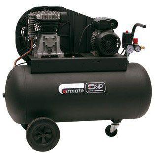 SIP Belt Drive Wheel Mounted Air Compressors 230V