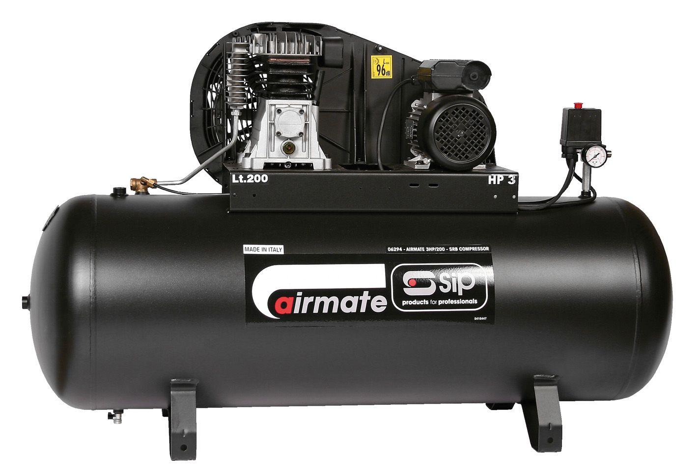 SIP Belt Drive Air Compressors 230V 13 Amp