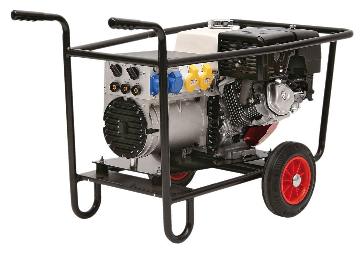 SIP Alleycat P200W 13Hp 200 Amp Petrol Ac Welder Generator Honda Engine