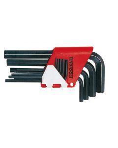 Teng Tools 9 Piece Metric Hex Key Set