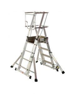 Youngman Teleguard Telescopic Platform Ladders