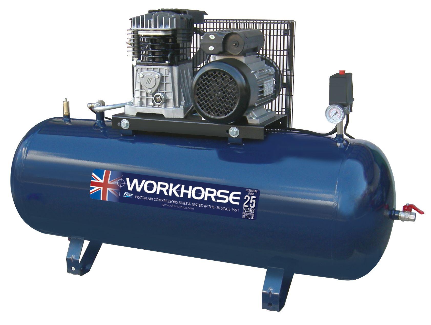 Fiac Workhorse Belt Drive Air Compressors 230v
