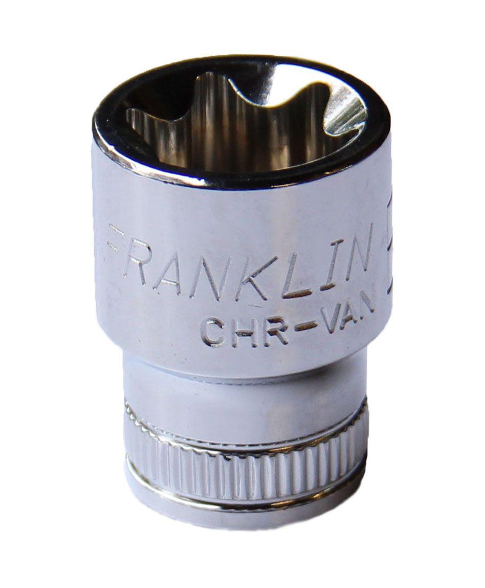 """Franklin XF External Star Socket 1/4"""" Drive"""