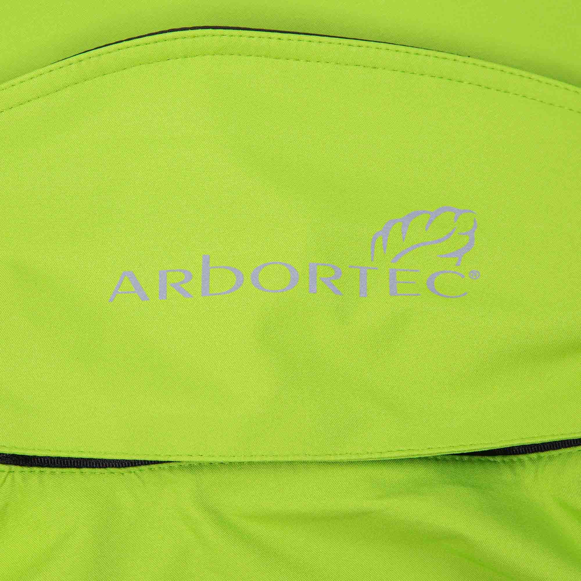 Arbortec AT4400 BreatheDry Waterproof Smock Jacket Lime