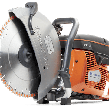 Husqvarna K770 Petrol Disc Cutter With Blade