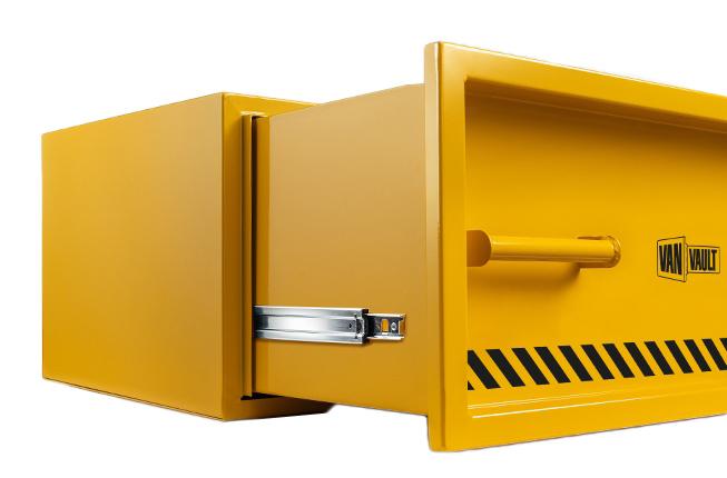 Van Vault Stacker XL Van Box 910x485x313mm